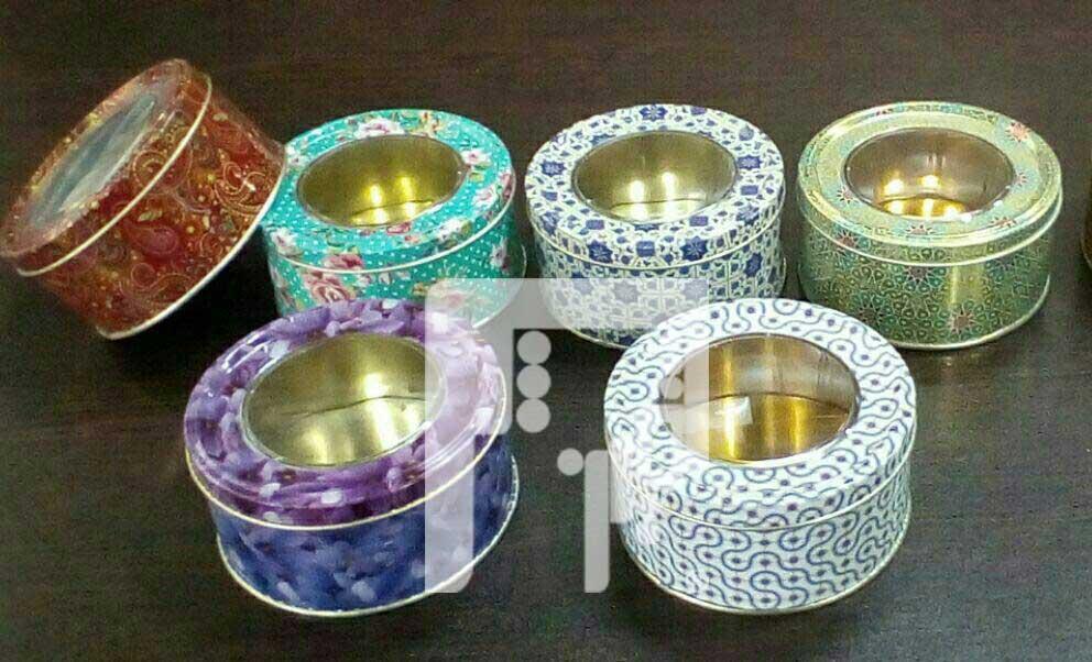 بسته بندی قوطی زعفران عمده در مشهد