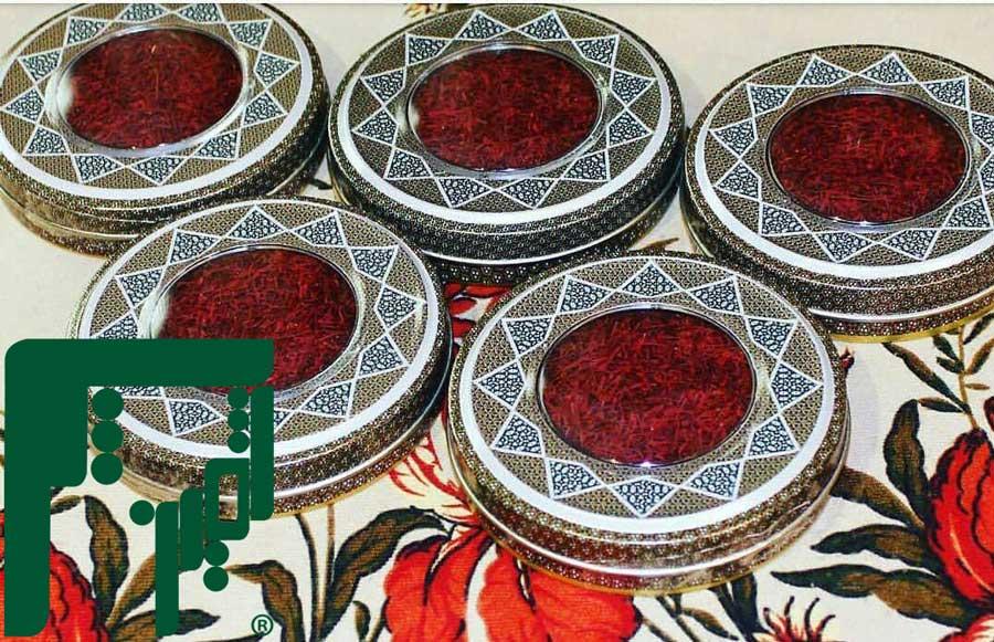 خرید ظرف خاتم زعفران